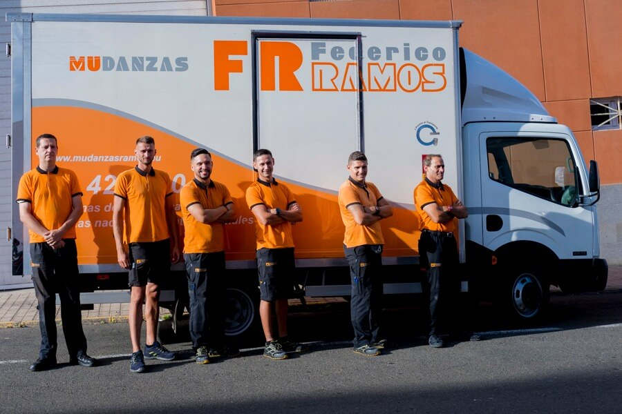 Profesionales de mudanzas en Las Palmas Federico Ramos